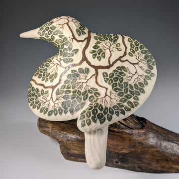Tree Carved Bird #691