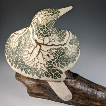 Tree Carved Bird #692