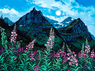 Logan Pass Fireweed