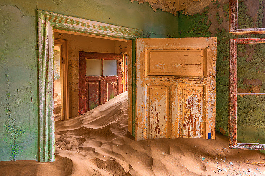 Sand Filled Rooms IV, Kolmanskop, Namibia