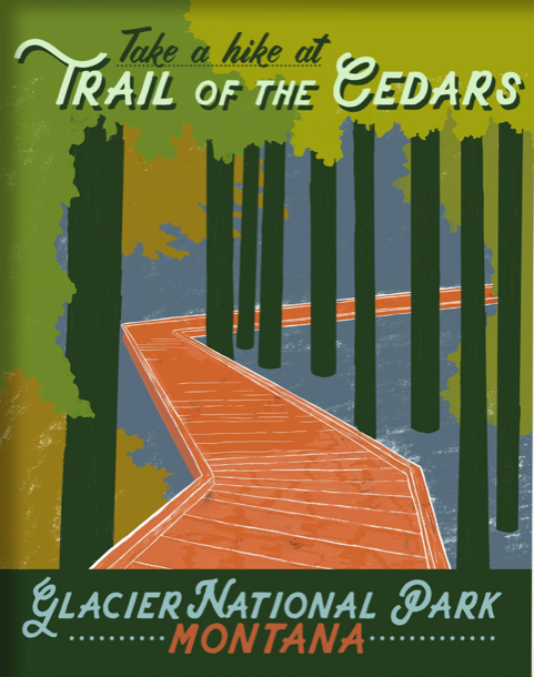 Trail of the Cedars