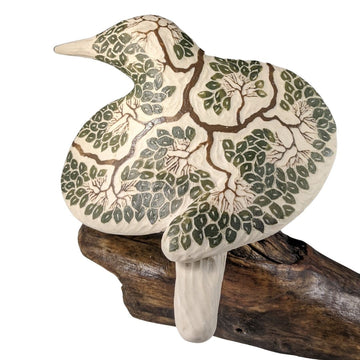 Tree Carved Bird #748