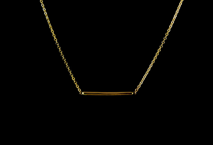 Balance Necklace - gold