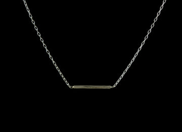 Balance Necklace - silver