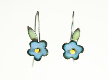 Dainty Forget-Me-Not Earrings