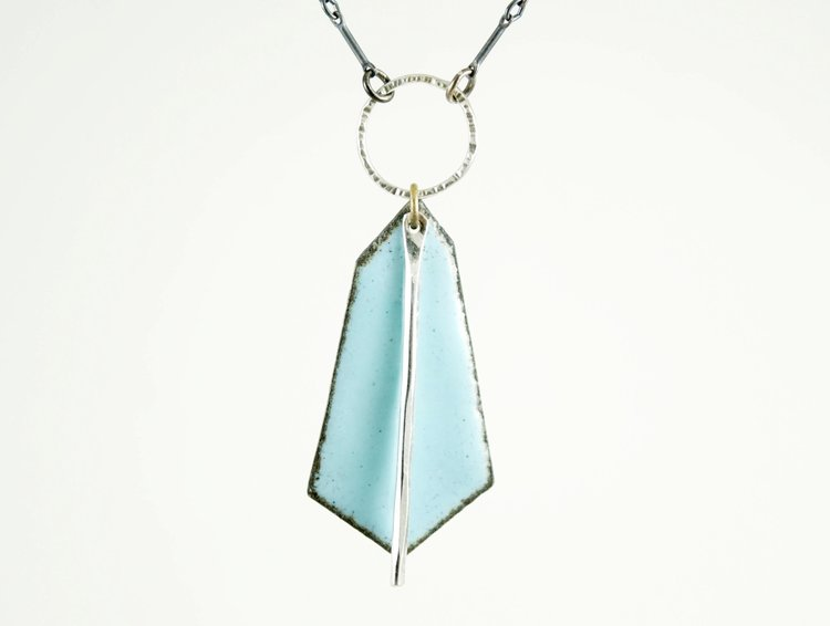 Blue Leonid Necklace