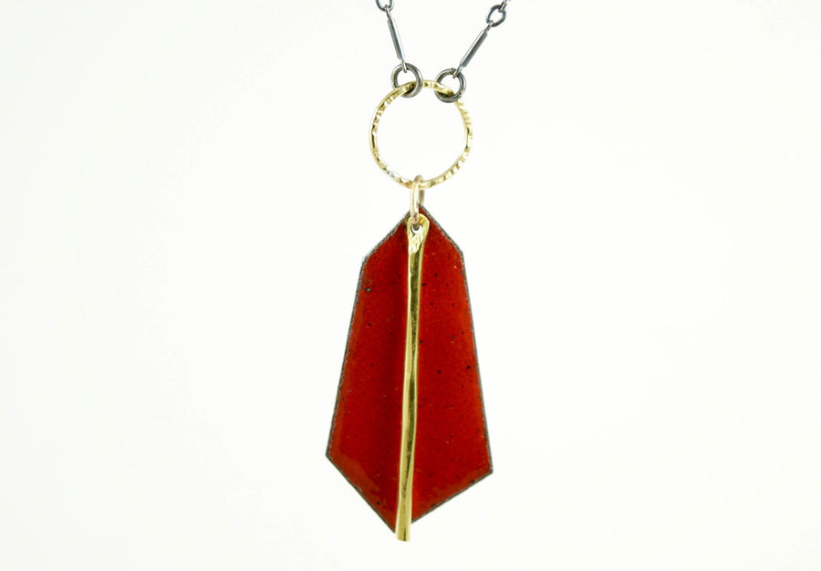 Red Leonid Necklace