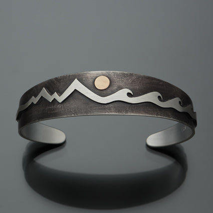 Mountains and Waves Bracelet B31