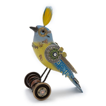 Bird on Wheels #712