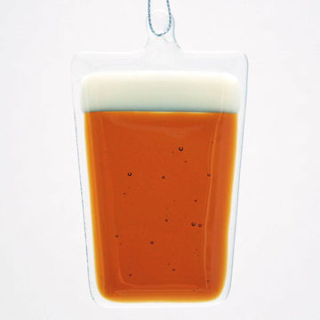 Amber Beer Ornament