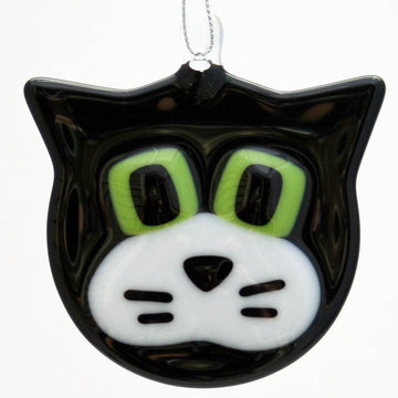 Cat Ornament - Black