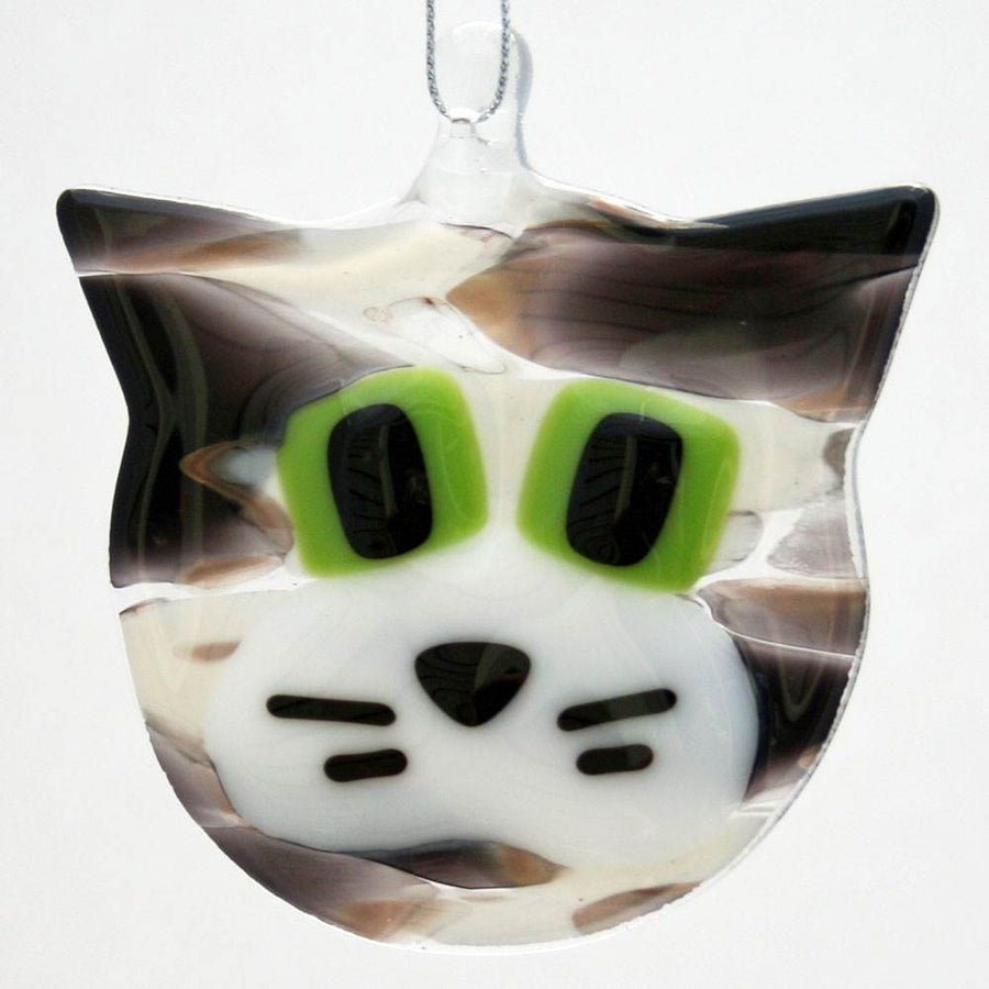 Cat Ornament - Gray