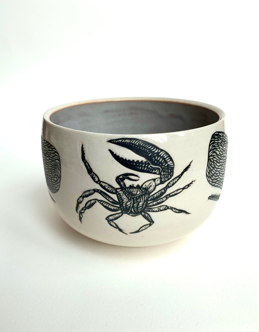 Whales and Crab Soup Bowl