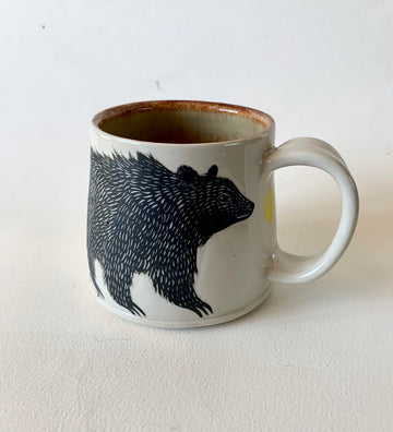 Large Bear Mug with Handle