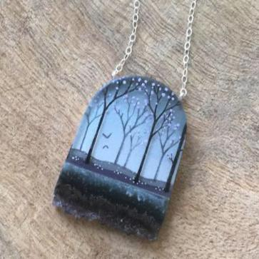 Crystal Forest Necklace