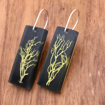 Wolf Lichen Earrings