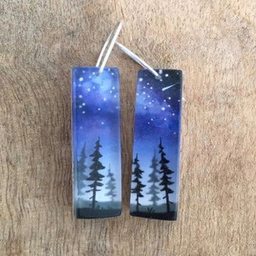 Northern Forest Earrings