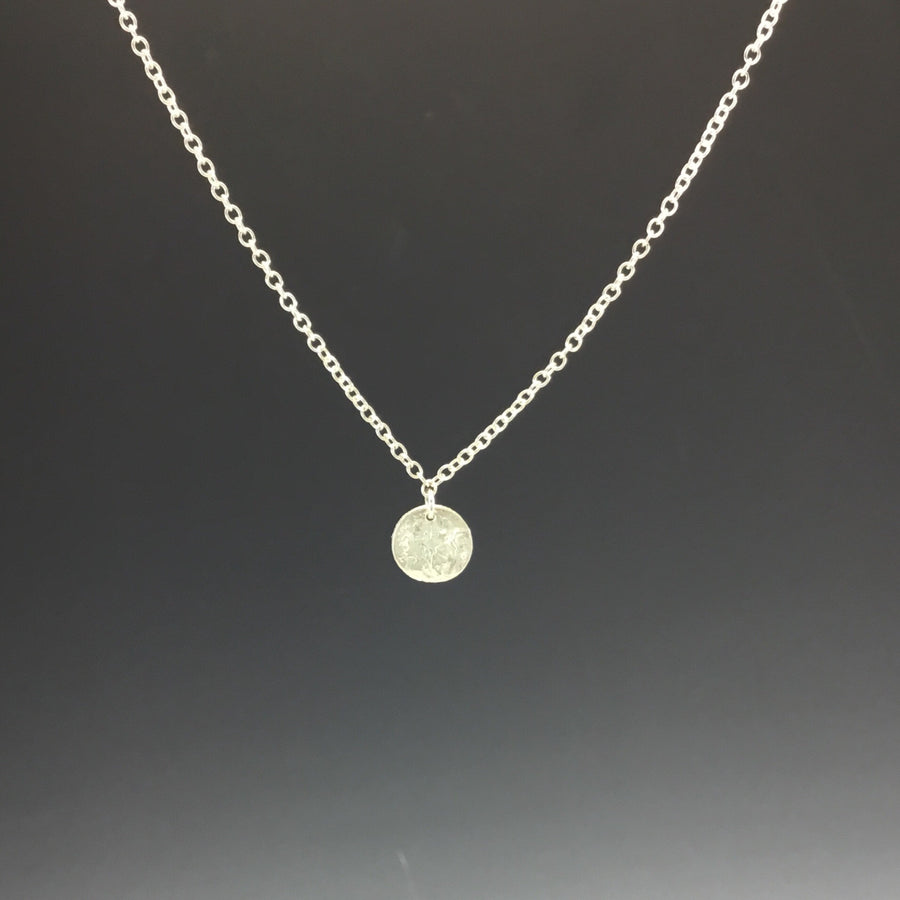 Necklace - Reticulated Full Moon