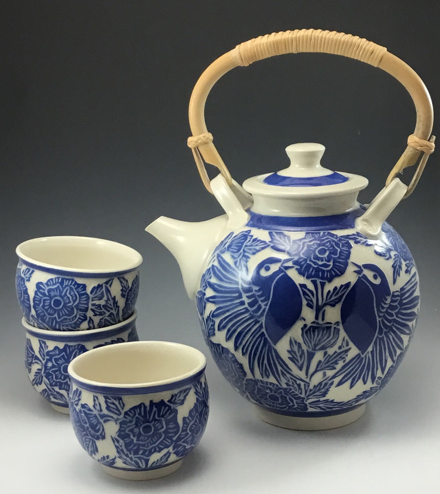 Tea Set with 6 Cups #211