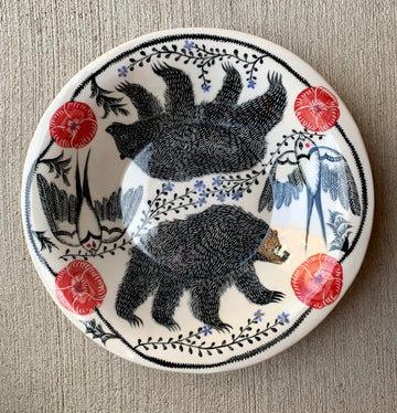 Two Bears Serving Platter