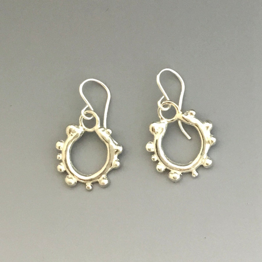 Dot Mod Dangle Earrings