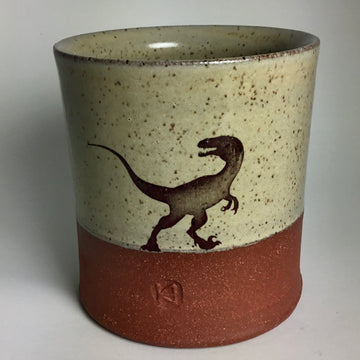 Cup - Velociraptor - Yellow
