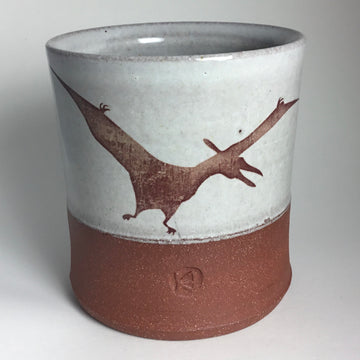 Cup - Pterodactyl- White