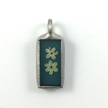 Mini Rectangle Pendant #3
