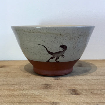 Bowl - Velociraptor - Yellow
