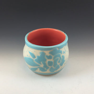 Light Blue Flower Cup #74
