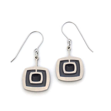 Mod Square Earrings