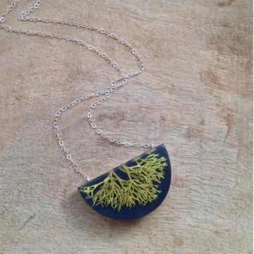 Wolf Lichen Necklace