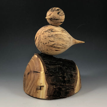50121 Perched Bird Sculpture