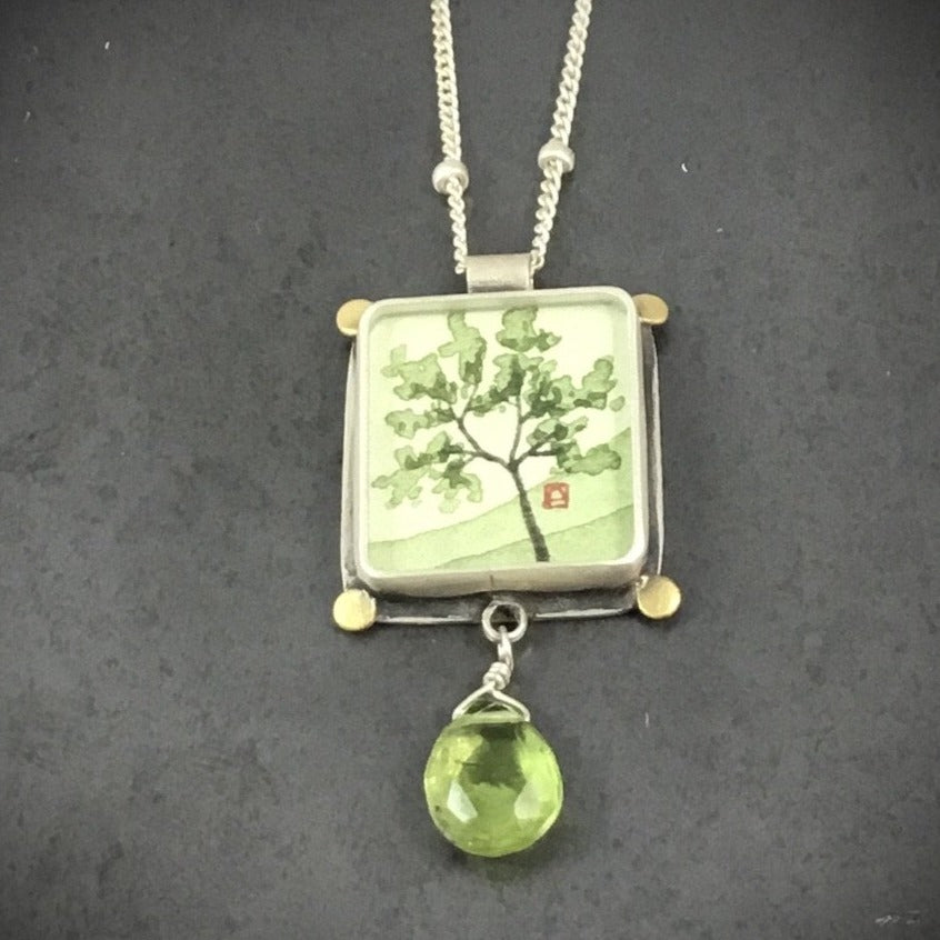 Spring Maple Necklace