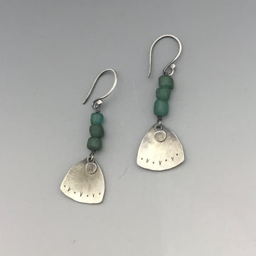 All I Wanted Was Spring Earrings - Teal