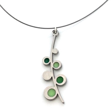 Hollyhock Necklace