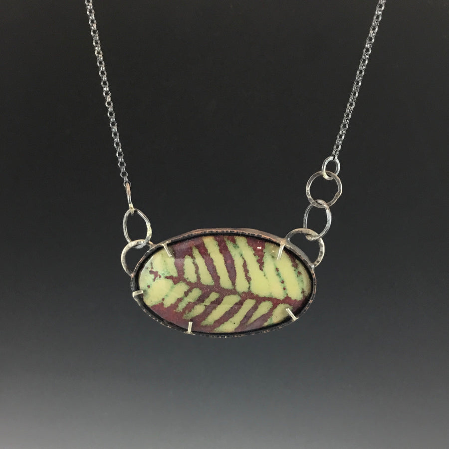 Grand Fir Botany Necklace