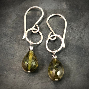 Tine Tourmaline Briolettes Earrings