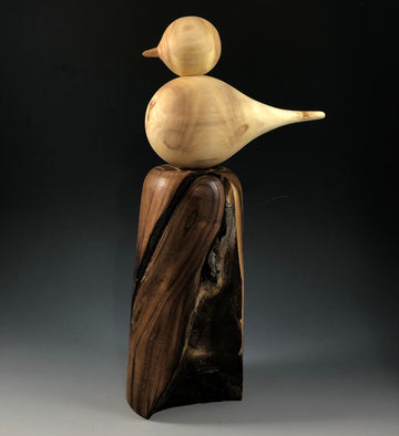 50221 Perched Bird Sculpture