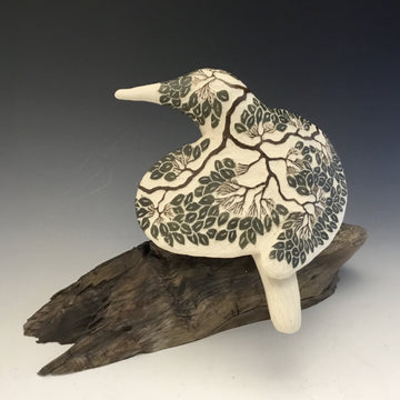Tree Carved Bird #684