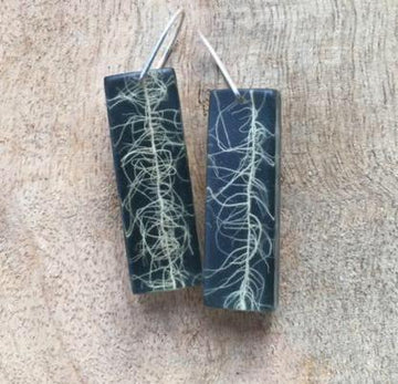 Usnea Lichen Earrings