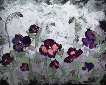 Little Purple Pansies
