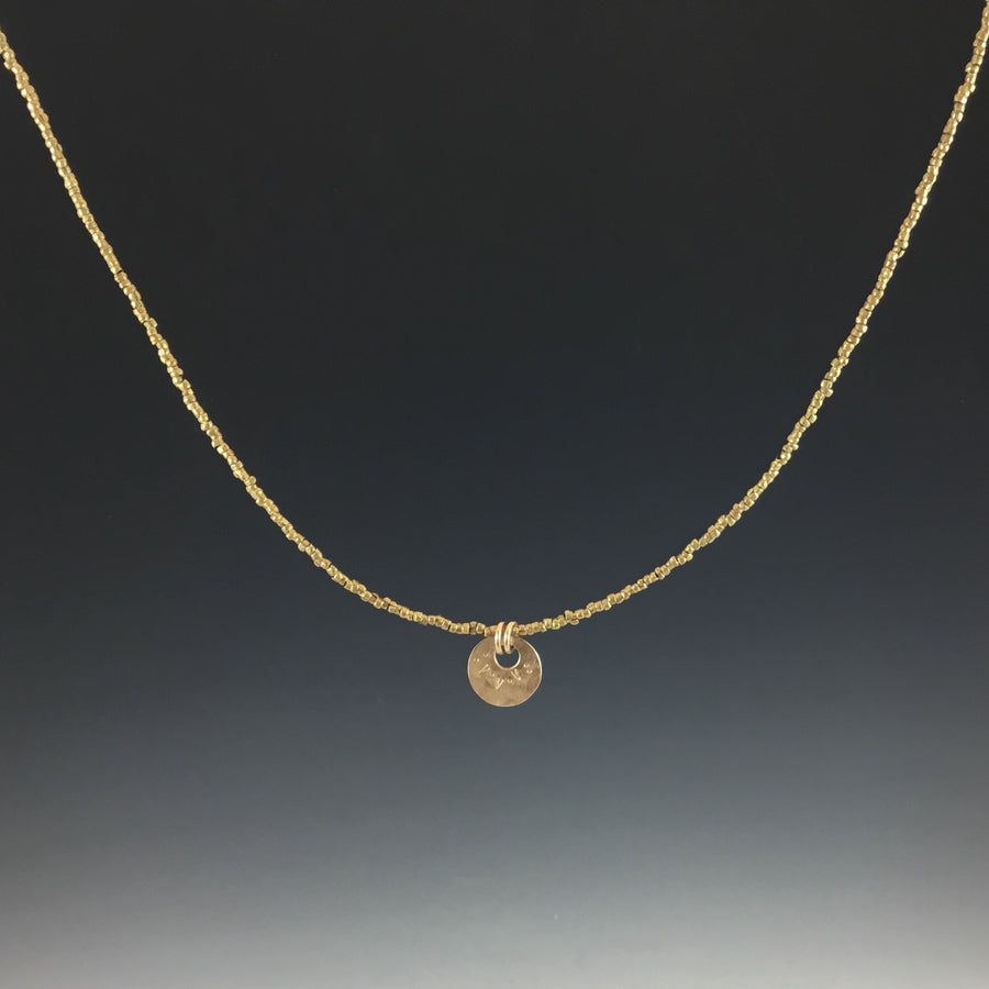Stacking Necklace in Gold
