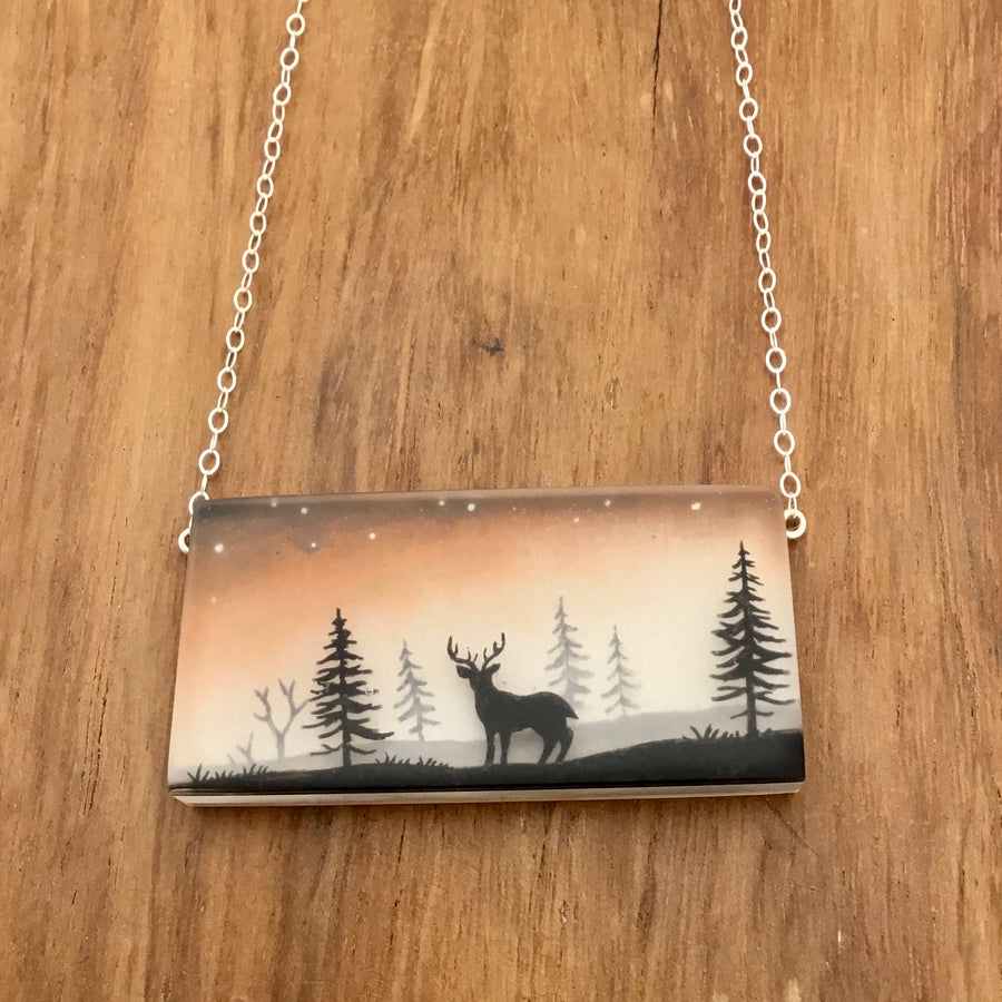 Sunset Forest Necklace