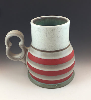 Crackle & Stripe Mug