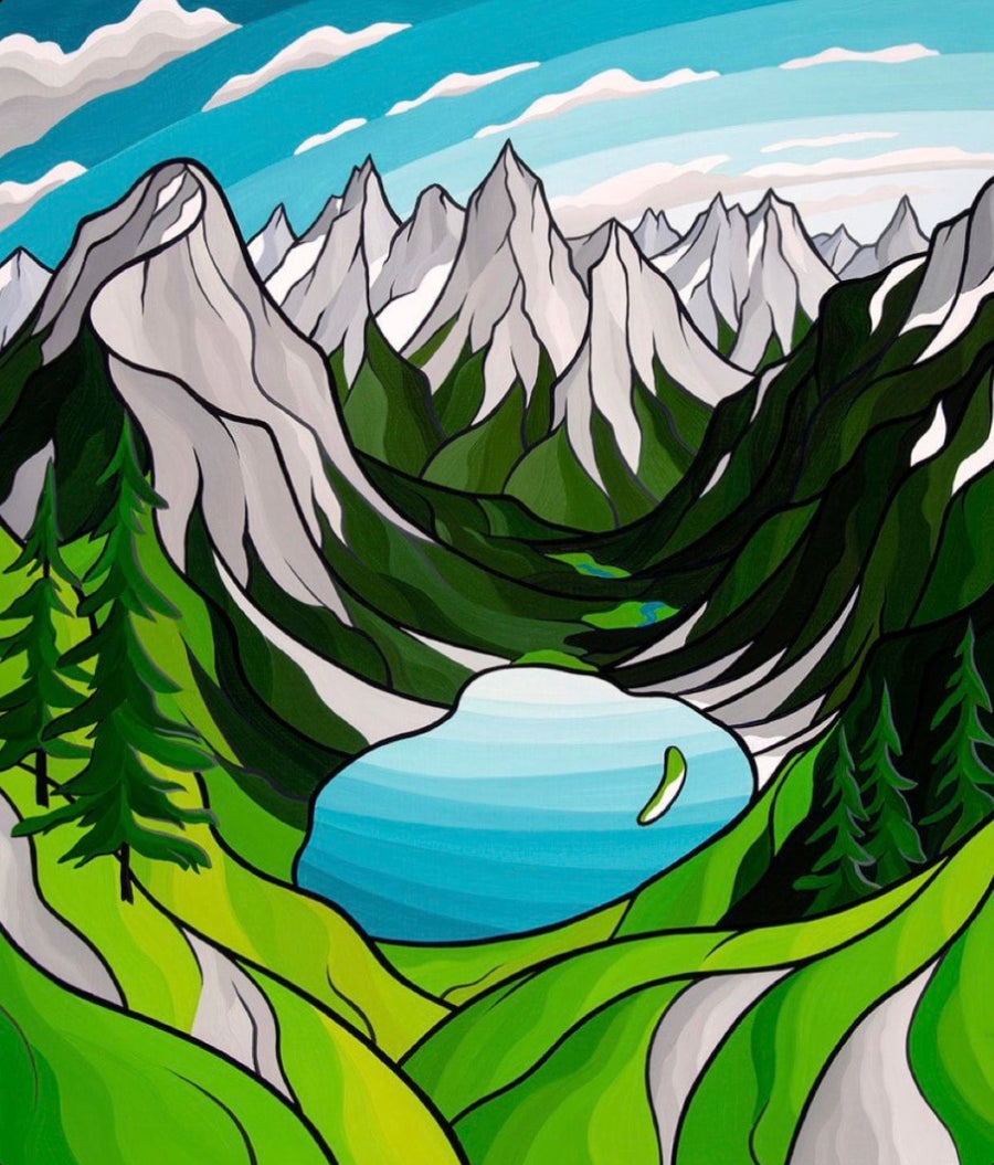 Ann Lake Original Painting
