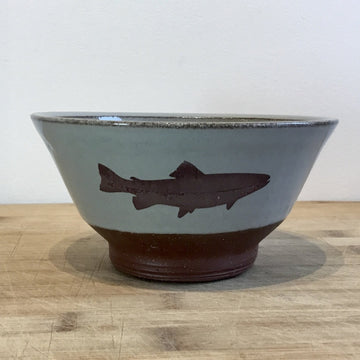 Bowl - Trout - Blue/Grey