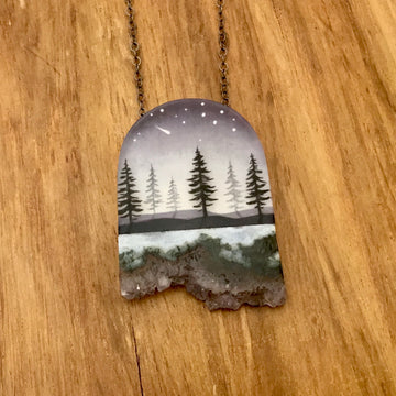 Crystal Pines Necklace