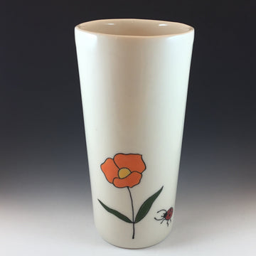 Large Vase / Cup with Flower