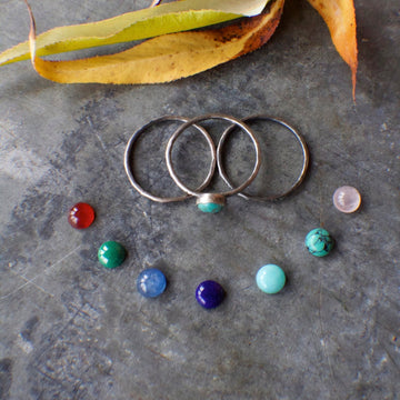 Fatty Stack set of 3 Rings